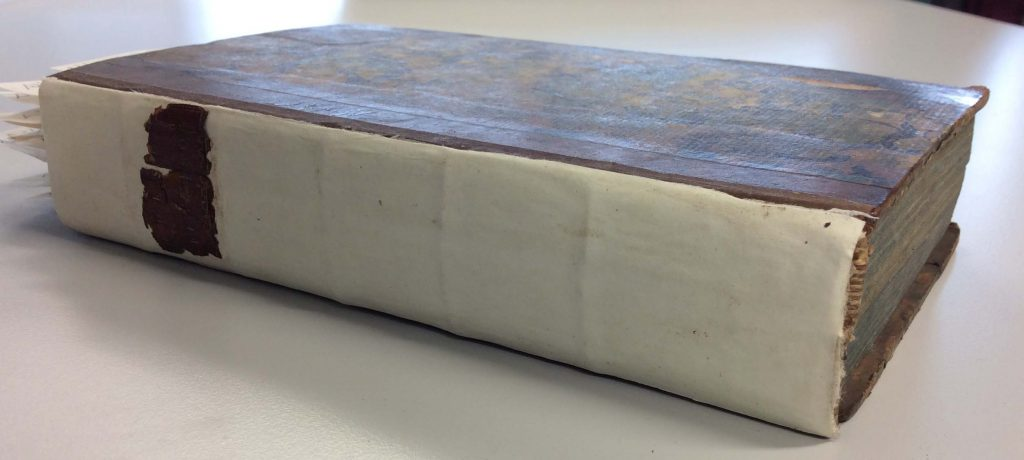 Latin thesis, after conservation. Volume is now whole.