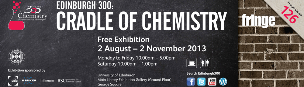 Edinburgh 300: Cradle of Chemistry