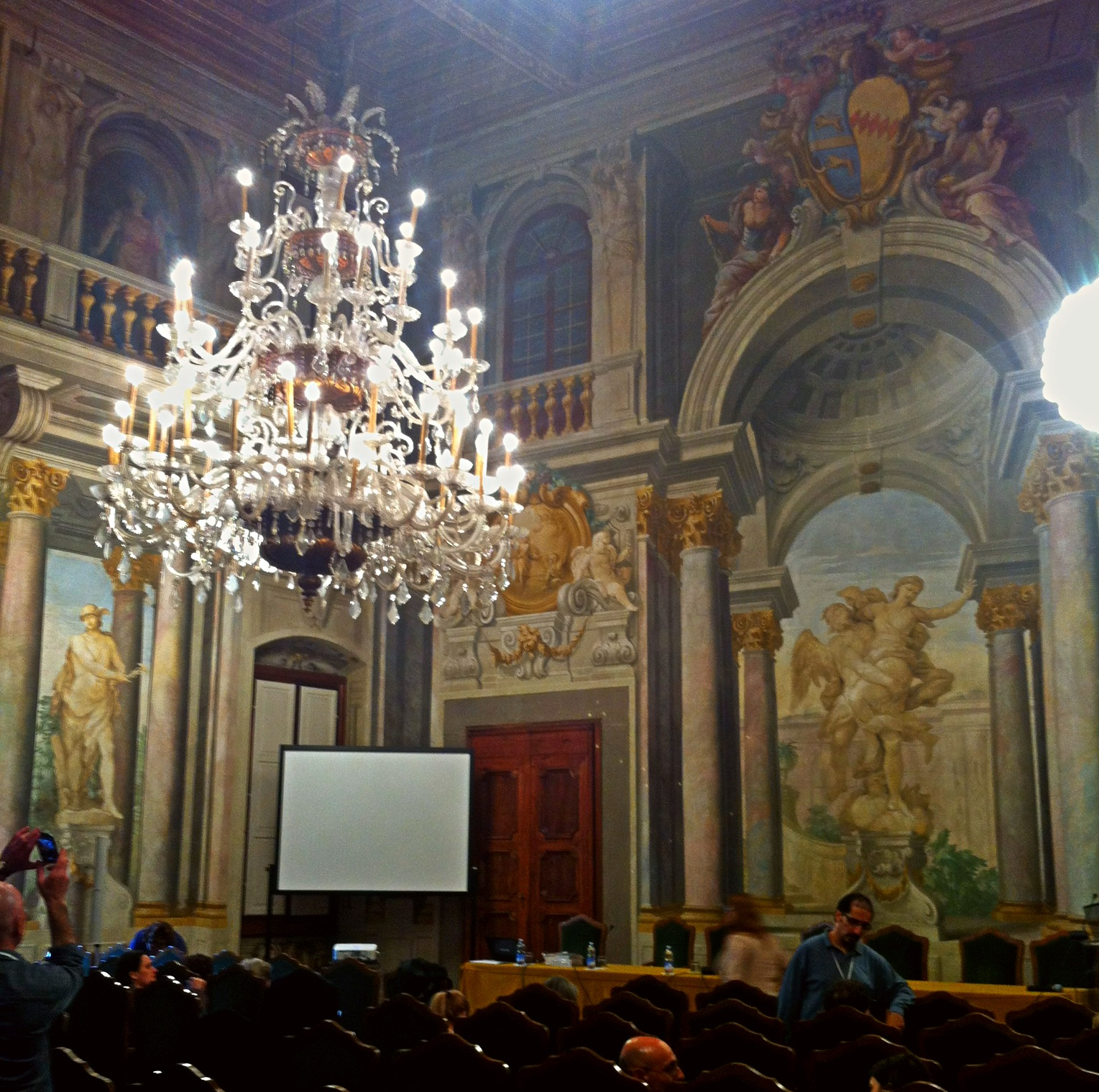 Chandelier in Banca CR Firence, Florence