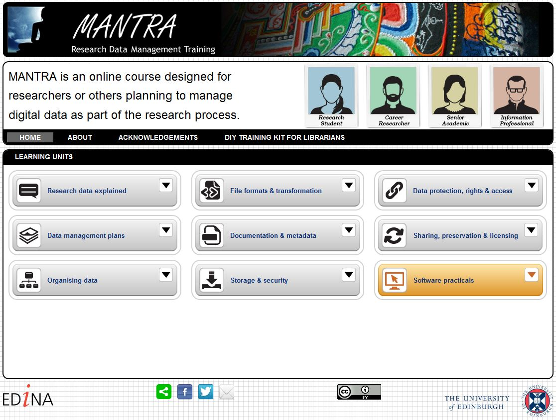 MANTRA Homepage