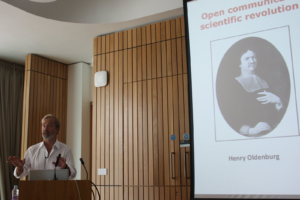 Geoffrey Boulton talking about the origins of peer review