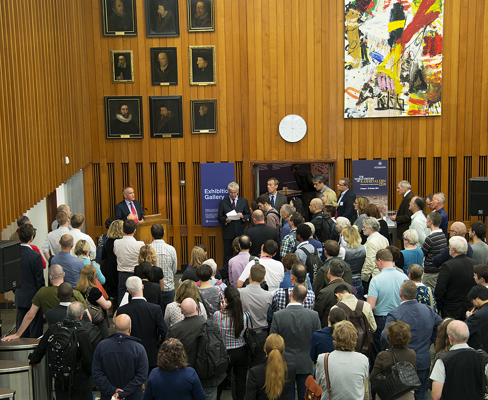 University of Edinburgh RDM Service launch by Sir Timothy O'Shea