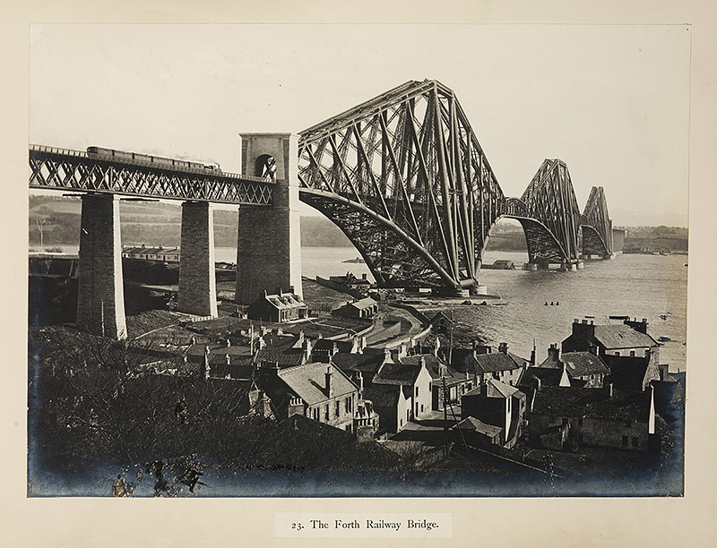 The Forth Railway Bridge.