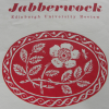Artwork from a poster advertising a 1958 issue of 'The Jabberwock'. Coll-1611.