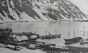 A contemporary picture of Grytviken, South Georgia, in 1914 (Salvesen Archive, Photographs Envelope 31)