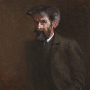 Portrait of Patrick Geddes by A. G. Hector