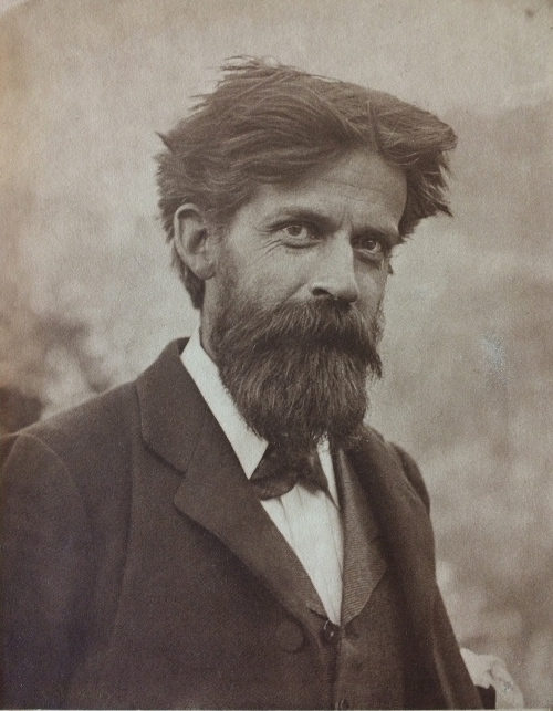 Photograph of Patrick Geddes, aged 44. c.1898 (Coll-1167/GFP)