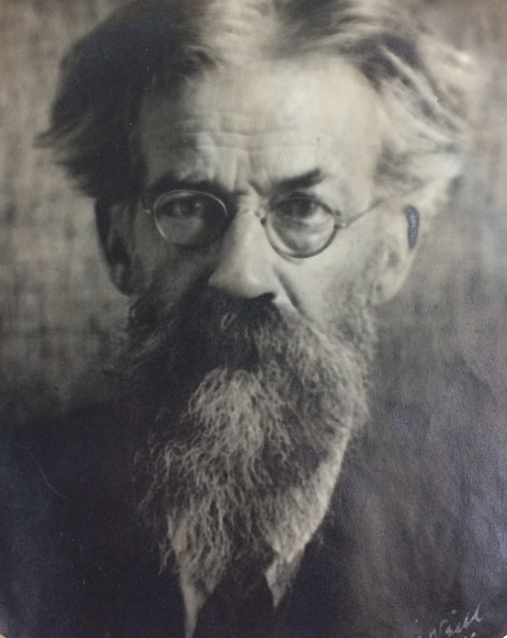 Photograph of Patrick Geddes, aged 71, c.1913 (Ref: Coll-1167/GFP)