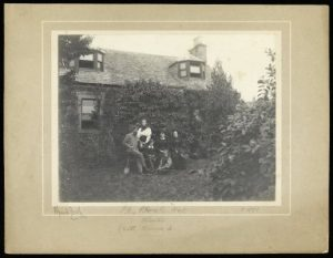 Patrick Geddes and family at Mount Tabor, Perth, c.1899 (Coll-1167)