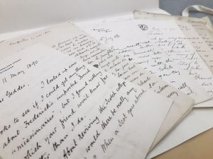 Selection of correspondence from the Patrick Geddes papers (Ref:T-GED12/3)