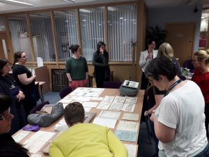 Promoting the Patrick Geddes collections to University of Strathclyde library staff