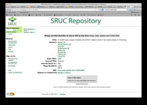 SRUC Repository