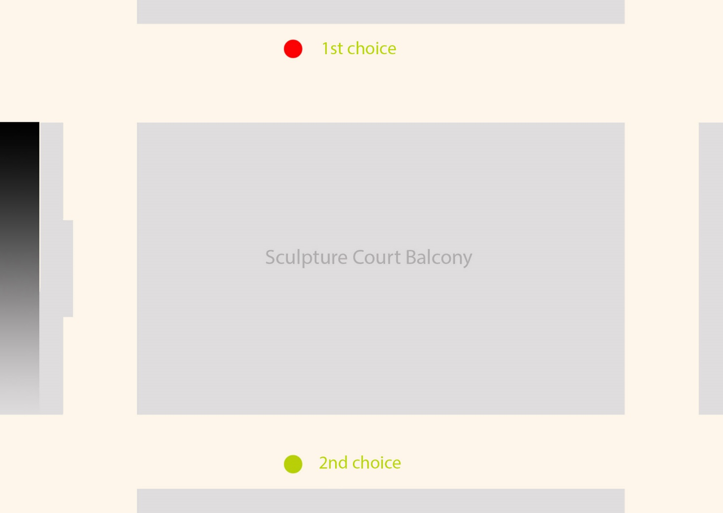 Degree Show Proposal: listing my choices