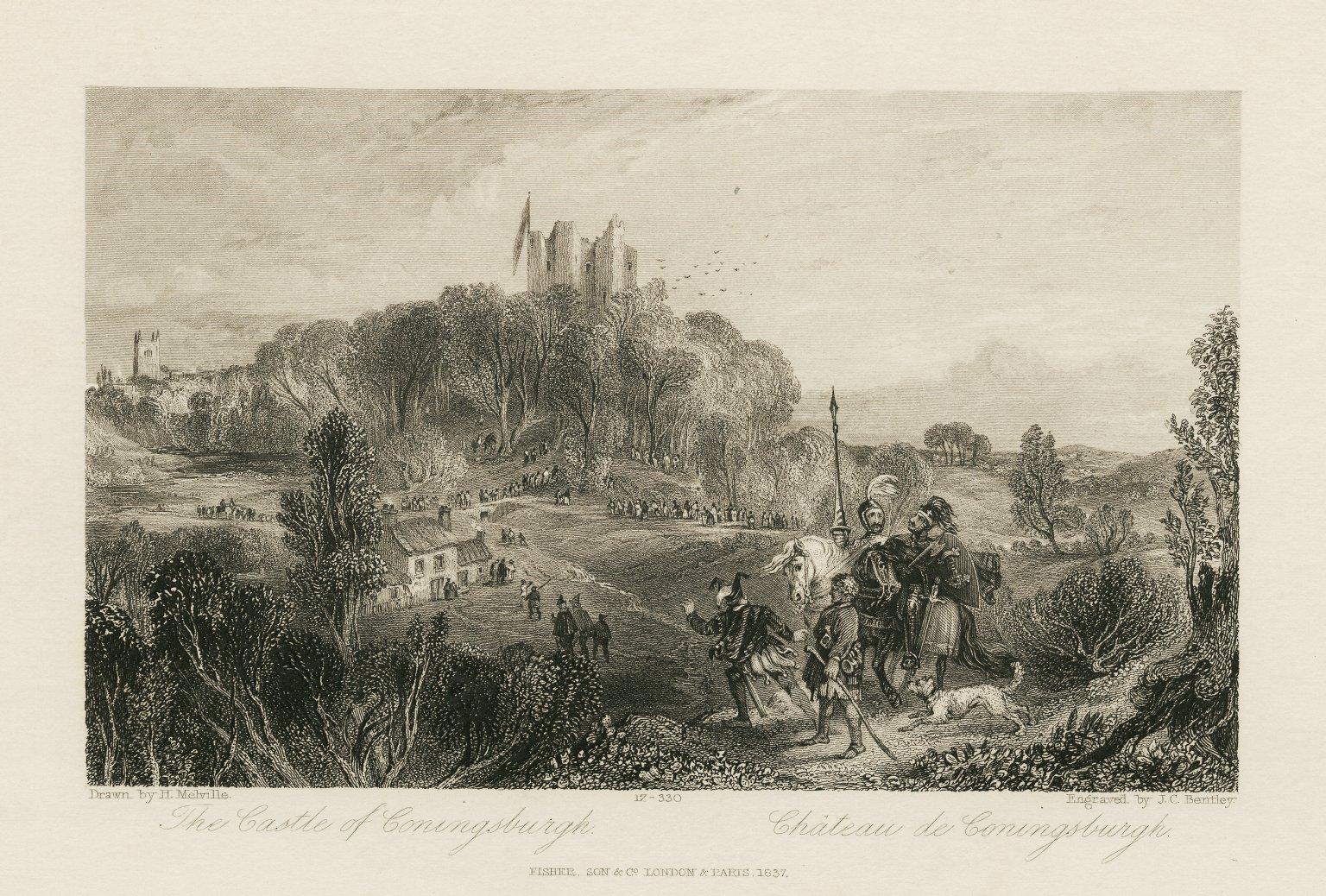 7. Castle of Coningsburgh