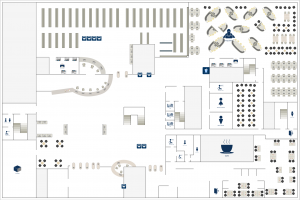 Library Map of Main Library