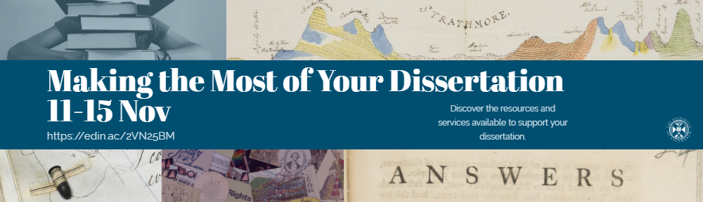 Making the Most of Your Dissertation